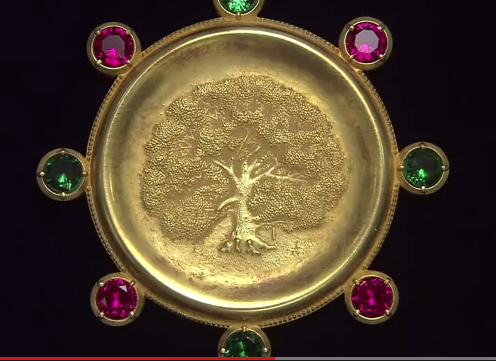 Kyoto Prize Medal upclose
